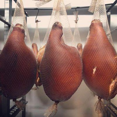 Hanging Legs of Ham