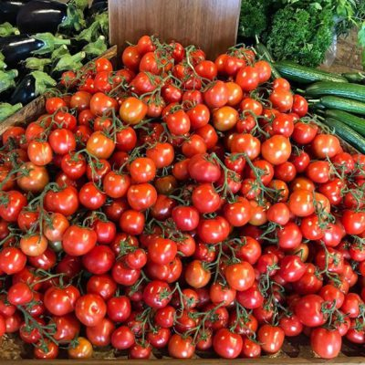 Fresh Produce - Tomatoes on Display
